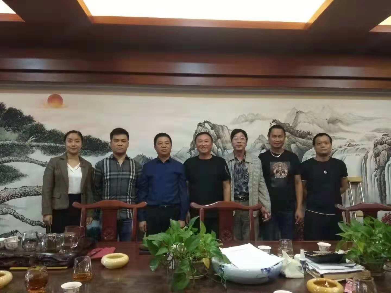 协会走访华东建材大市场简讯