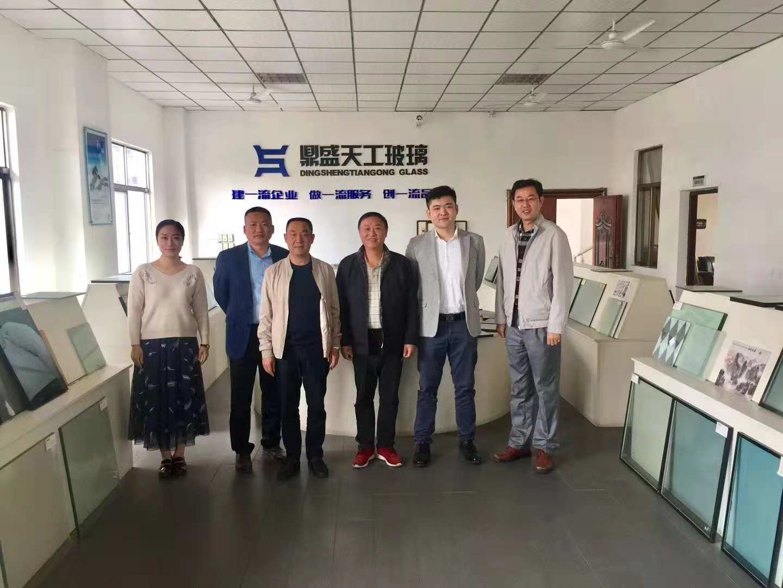 协会走访江西鼎盛天工玻璃竞技宝app官方简讯
